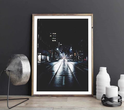 Street lights Personliga posters, art prints Pansarhiertadesign