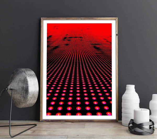 Red light Personliga posters, art prints Pansarhiertadesign