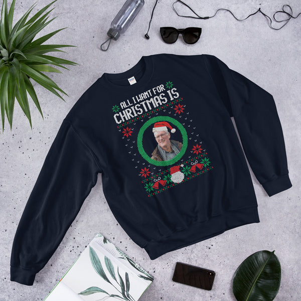 Tegnell - Ugly Christmas Sweater - Sweatshirt i Unisex-modell