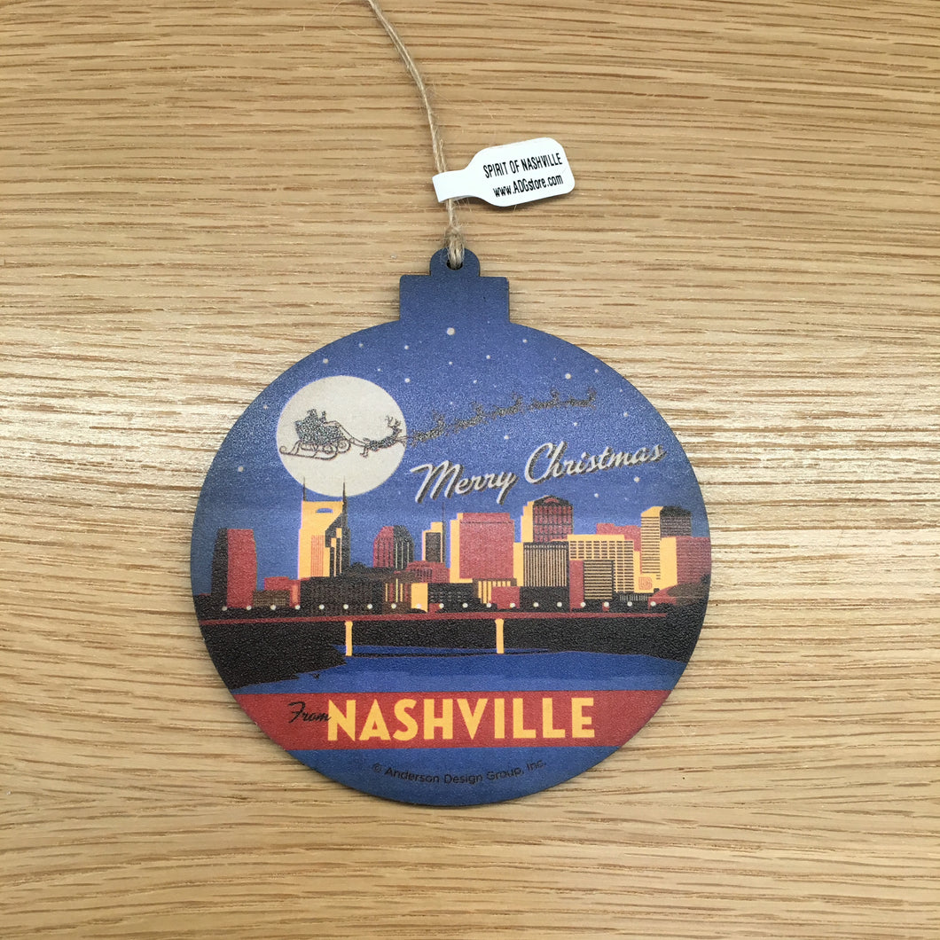 Nashville C. Ornament