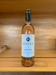 Hayes Ranch Rose Glass
