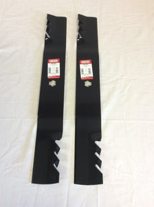 "Set of 2 Oregon 46"" Gator Blades 96-401 Replaces Cub Cadet 942-04290, 742-04244 - AgUpOnline"