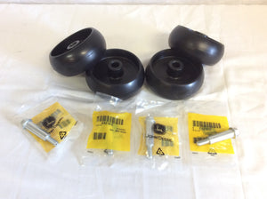Replacement Deck Wheels For John Deere GX10168 w/ Bolts D100, D110, D120, D130 - AgUpOnline