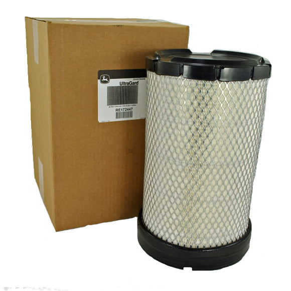 John Deere Original Equipment Air Filter #RE172447 - AgUpOnline