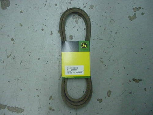 GX22036 JOHN DEERE Genuine OEM Traction Drive Belt Sabre 100 Series Gear Drive - AgUpOnline