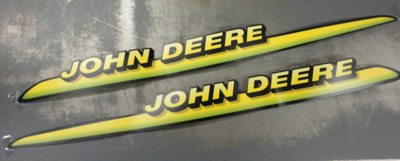 John Deere Original Equipment Label Kit #AM122823 - AgUpOnline