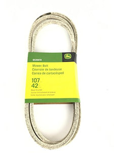 "GX20072 John Deere Deck Belt for 42"" Cut Fits 100, D, L & LA Series Mowers - AgUpOnline"