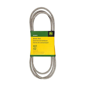 "John Deere Mower Deck Drive Belt GX20072 For D100, D110, D120, D130 42"" Decks - AgUpOnline"