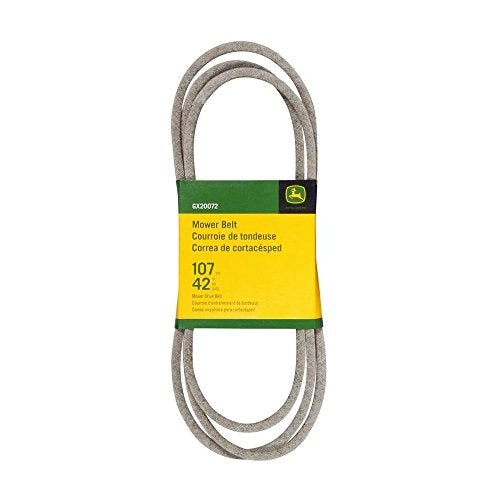 John Deere Mower Deck Drive Belt GX20072 For D100, D110, D120, D130 42