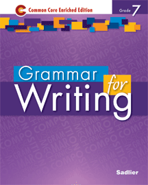 Grammar for Writing 2014 7 Purple