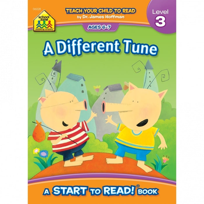 Start to Read 3-A Different Tune