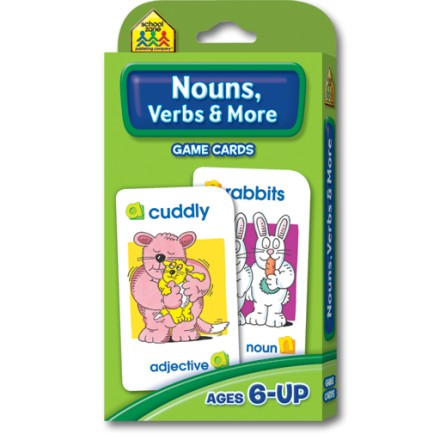 Flash Cards - Nouns, Verbs & More