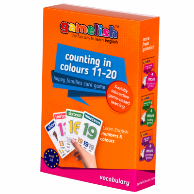 Gamelish - Counting in Colors 11-20