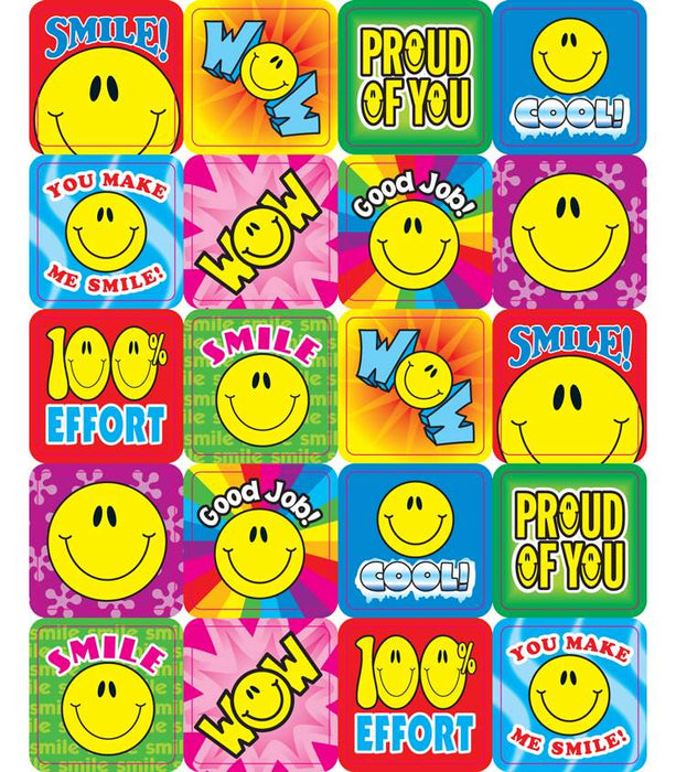 Stickers - Smile Fun Motivational