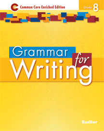 Grammar for Writing 2014 8 Yellow