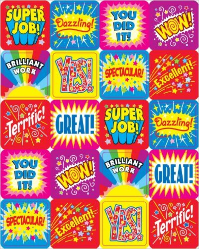 Stickers - Positive Words Motivational