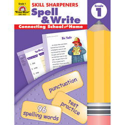 Skill Sharpeners Spell & Write Grade 1