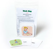 Flash Cards -  Verb Play 1