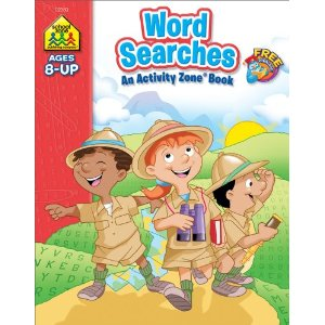 School Zone Word Searches 8+