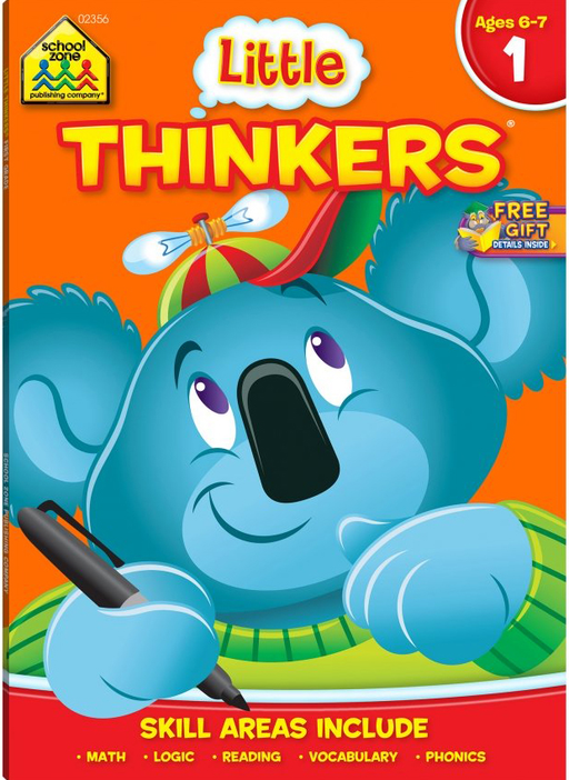 Little Thinkers Deluxe First Grade Ages 6-7