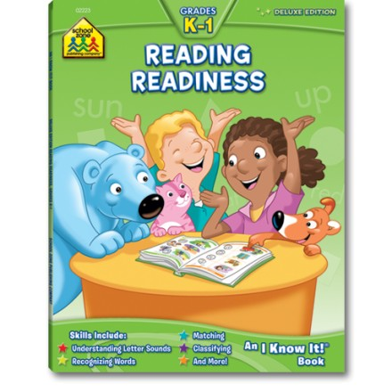 School Zone Reading Readiness K-1 Deluxe Edition