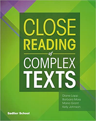 Sadlier Close Reading of Complex Texts SE 3