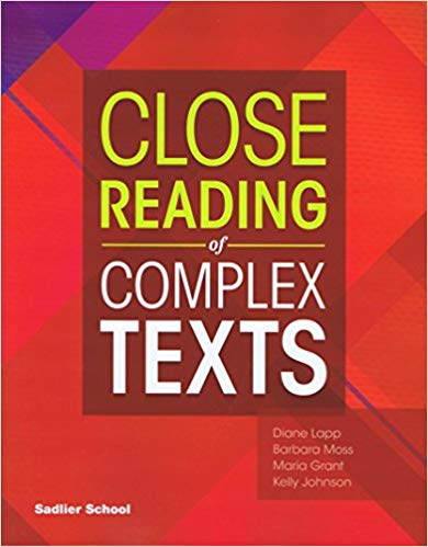 Sadlier Close Reading of Complex Texts SE 6
