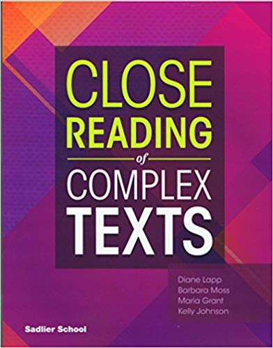 Sadlier Close Reading of Complex Texts SE 7