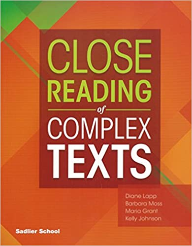 Sadlier Close Reading of Complex Texts SE 4