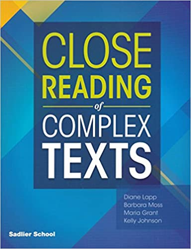 Sadlier Close Reading of Complex Texts SE 5