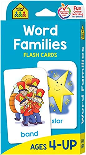 Flash Cards - Word Families