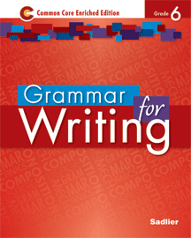 Grammar for Writing 2014 6 Red SE