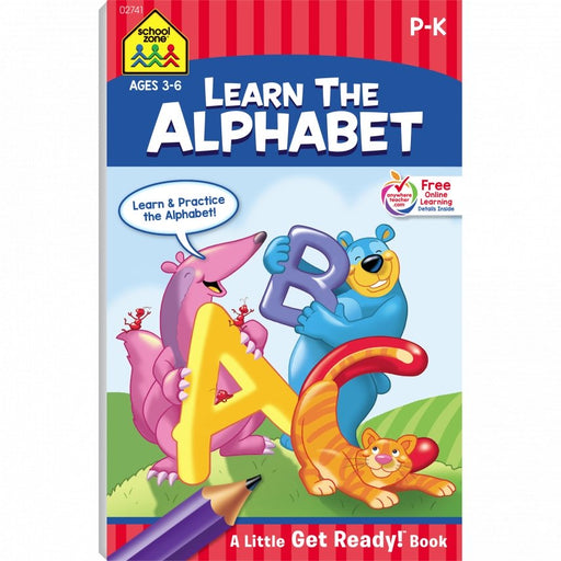 Learn the Alphabet! P-K Ages 4-6