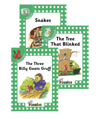 Jolly Phonics Readers, Complete Set Level 3 - Print
