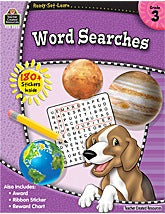 Ready-Set-Learn: Word Searches  Grade 3