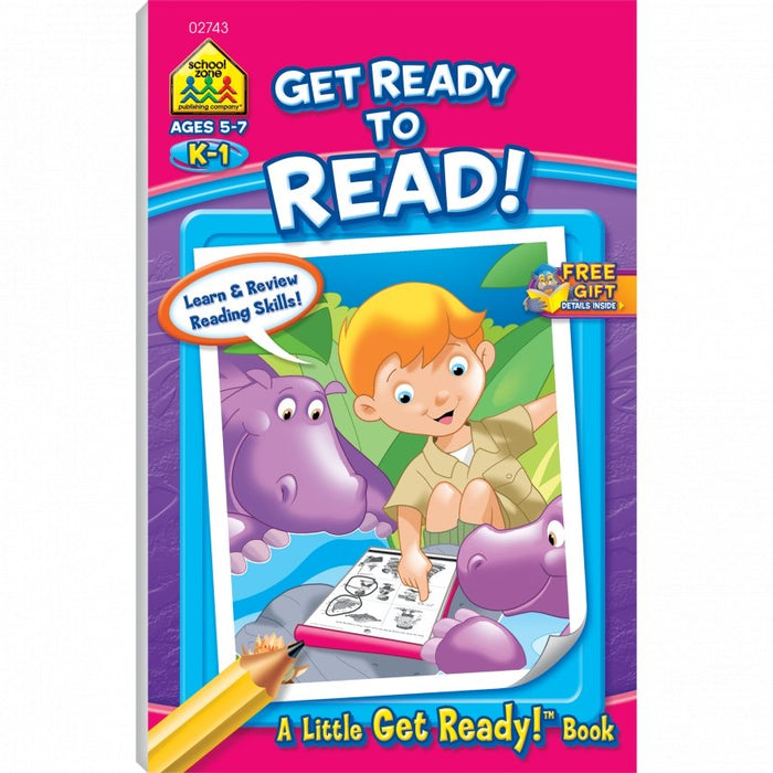 Get Ready to Read! K-1 Ages 5-7