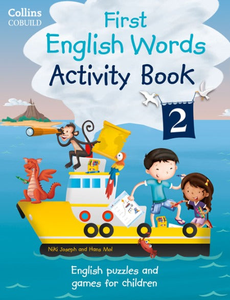 First English Words Activity Books 2