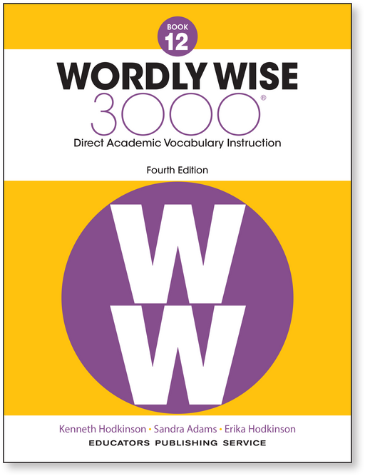 Wordly Wise 3000 4th ED 12 SE