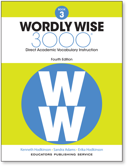 Wordly Wise 3000 4th ED 3 SE