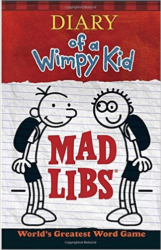 Mad Libs - Diary of a Wimpy Kid