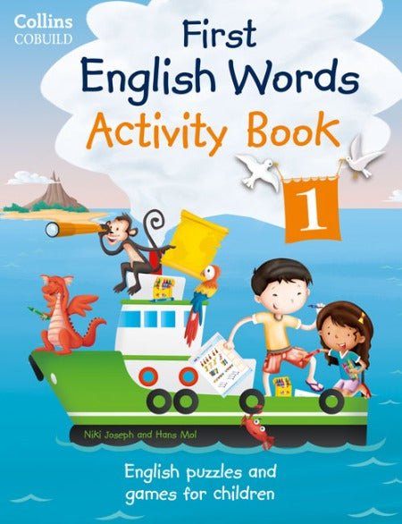 First English Words Activity Books 1