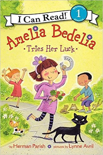 ICR 1-Amelia Bedelia Tries Her Luck
