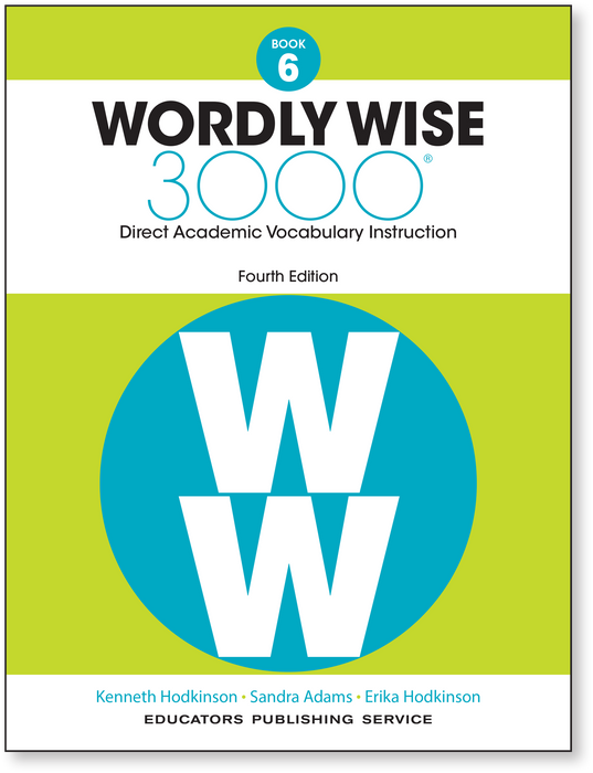 Wordly Wise 3000 4th ED 6 SE