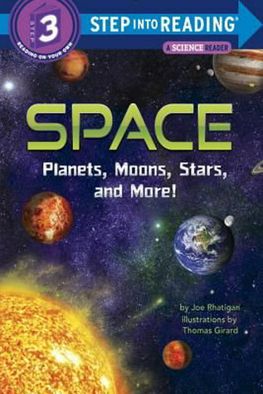 STEP 3 - Space: Planets, Moons, Stars, and More!