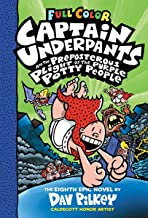 Captain Underpants #08- Captain Underpants and the Preposterous Plight of the Purple Potty People