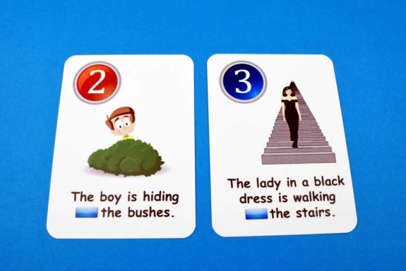 Creativo Fun Cards - Prepositions of Time & Place