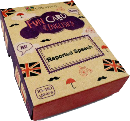 Creativo Fun Cards - Reported Speech