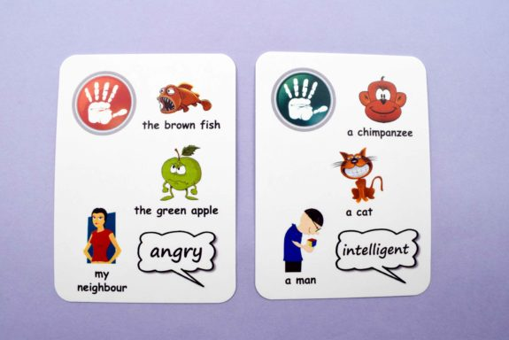 Creativo Fun Cards - Adjectives, Comparatives, and Superlatives