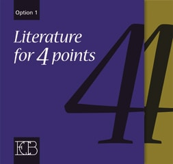 ECB - Literature for 4 points Option 1
