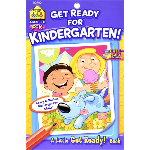 Little Busy Book - Get Ready For Kindergarten! P-K Ages 4-6